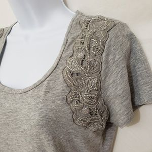 LAST CHANCE Ann Taylor Embellished Tee